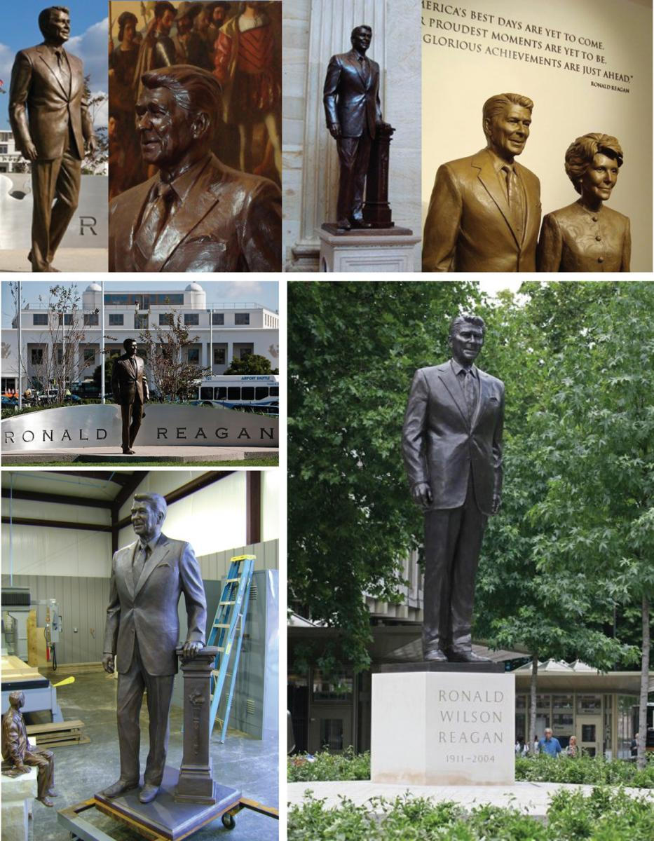 Ronald Reagan Sculptures