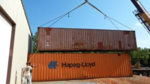 shipping container storage