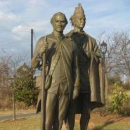 Spratt and Hagler Sculpture